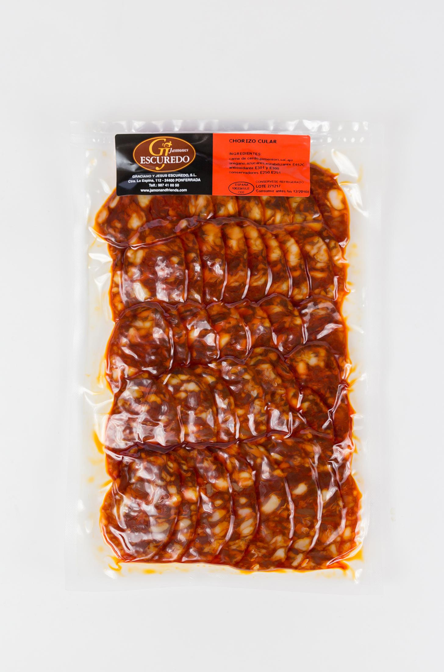 Chorizo cular loncheado
