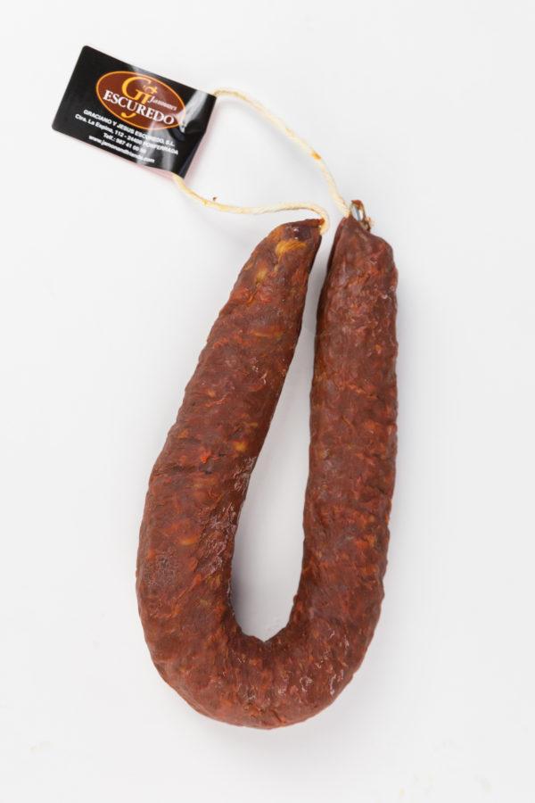 Chorizo dulce herradura